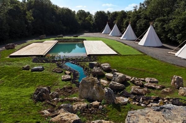 Photo et description baignade naturelle et piscine naturelle for Tarif piscine naturelle